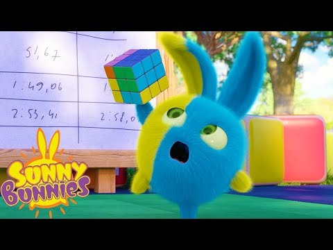 Cartoons for Children | SUNNY BUNNIES - RUBIK'S CUBE | Funny Cartoons For Children