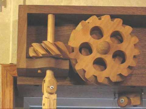 Wooden Gear Window Blinds