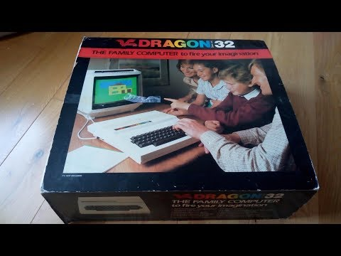 Dragon 32 Computer review for eBay auction.