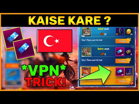 Free Character Vouchers Event In Pubg Mobile || Vpn Trick || Kaise Kare ? (Hindi)