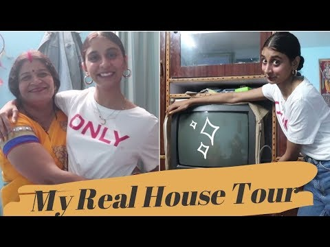MY REAL HOUSE TOUR   Tiny Blue House   Spill The Sass