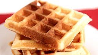 Belgian Waffles Recipe - Laura Vitale - Laura In The Kitchen Episode 782