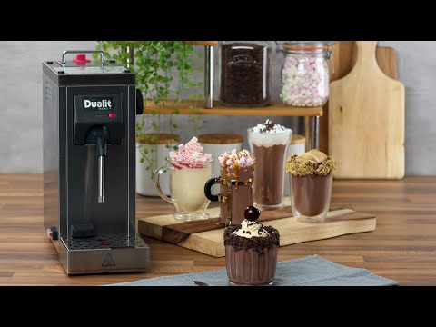 How to steam and froth milk with the Dualit Cino™ Milk Steamer