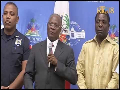 Haïti.- La cérémonie de Signature du Plan de Sécurité du 2ème tour des élections