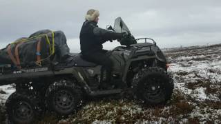 8. Polaris Sportsman 6x6 Big Boss 570 EPS 2017