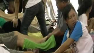 Foot Massage In Chatuchak Market , Bangkok