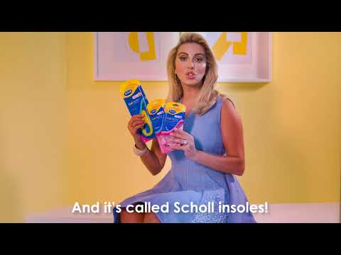 No pain, all gain with Joelle and Scholl GelActiv Insoles!