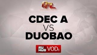 DUOBAO vs CDEC.A, game 1
