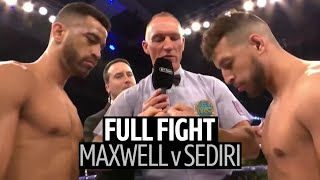 One of the most incredible comebacks you'll ever see! Sam Maxwell v Sabri Sediri full fight