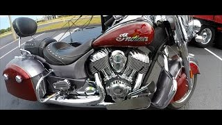 2. 2017 INDIAN SPRINGFIELD | FIRST TIME RIDING | BEAUTIFUL BAGGER