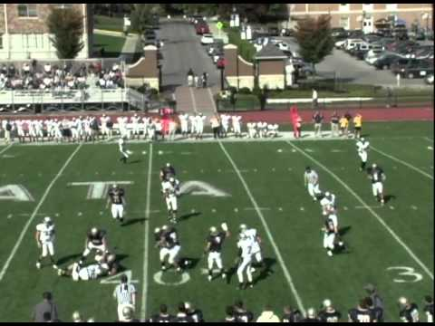 Football hosts Moravian College