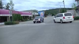 Quesnel (BC) Canada  City new picture : Driving in Quesnel BC (British Columbia) Canada - Cariboo District - Drive in Town