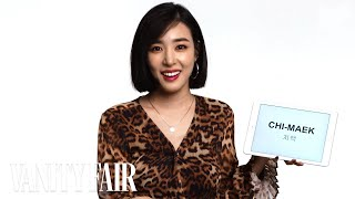 Video Tiffany Young Teaches You Korean Slang | Vanity Fair MP3, 3GP, MP4, WEBM, AVI, FLV Januari 2019