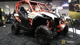 8. 2017 Can Am Maverick DPS 1000R Side by Side ATV - Walkaround - 2016 AIMExpo Orlando