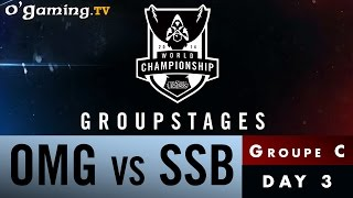 World Championship 2014 - Groupstages - Groupe C - OMG vs SSB