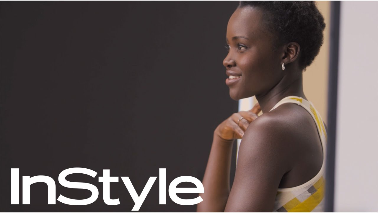 Watch: Lupita Nyong'o as she dazzles on the April 2016 InStyle Magazine Cover