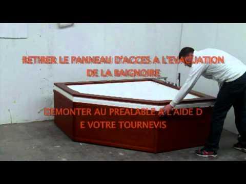 Comment poser une baignoire d 39 angle video la r ponse est - Comment installer une baignoire d angle ...