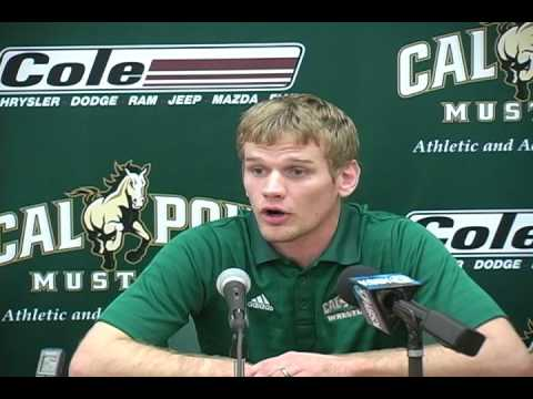 Cal Poly Assistant Wrestling Coach Scotti Sentes