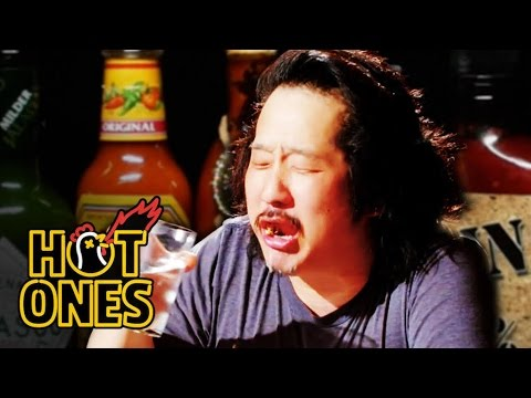 Bobby Lee Has an Accident Eating Spicy Wings