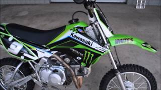 6. Used 2011 Kawasaki KLX110L For Sale / Chattanooga TN GA AL Dirt Bikes
