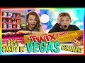 Best Candy In Vegas Challenge We Are The Davises