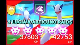 Catching legendary birds in Pokemon GO - 9 Articuno and Lugia raid bosses on Pokemon GO Fest! #pokemongo #pokemon.