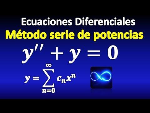 08. Ecuaciones Diferenciales, método de Series de Potencias, segundo orden