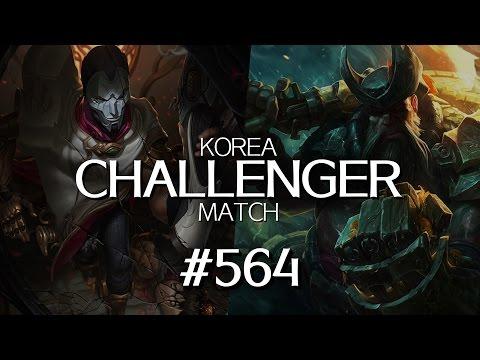 韓服菁英對決 #564 | Sipirit, Hyunwoo, Amel, Gankzero