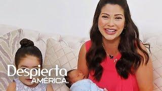 Ana Patricia, Gael y Giulietta por primera vez en TV después del parto