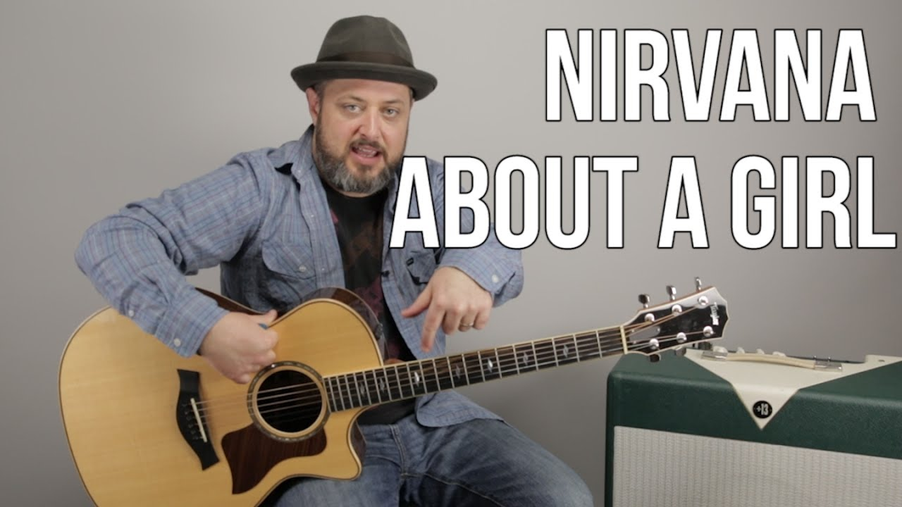 "How to Play ""About a Girl"" by Nirvana on Guitar – Easy Acoustic Songs"