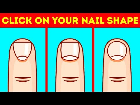 Video Your Nail Shape Reveals Everything About Your Personality download in MP3, 3GP, MP4, WEBM, AVI, FLV January 2017
