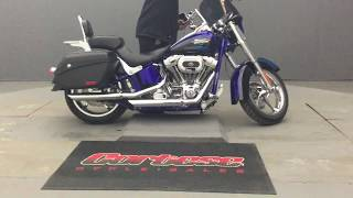 9. M1016 2011 Harley-Davidson FLSTSE2 CVO Softail Convertible