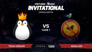 Team Kinguin против MadLads, Первая карта, SL Imbatv Invitational S5 Qualifier