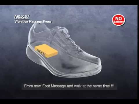iMOOV original patent vibrating shoe chip - No Battery (OFFICIAL)