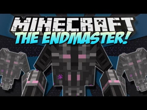 Minecraft | THE ENDMASTER | New Tameable Boss! [1.4.7]