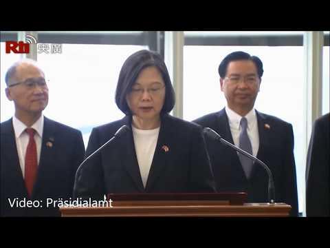 Präsidentin Tsai Ing-wen kehrt von ihrem Afrikabesuch ...