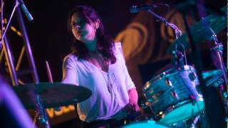 The Frame interviewed Stella Mozgawa, Warpaint's drummer, about how Hanson helped her start drumming, what she's thinking on stage and how she's living her teenage fantasy. http://www.scpr.org/programs/the-frame/2015/04/29/42632/warpaint-drummer-stella-mozgawa-s-rock-inspiration/Photo by Leslie Kalohi