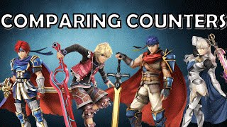 Comparing Corrin's Counter Surge with Other Character's Counters