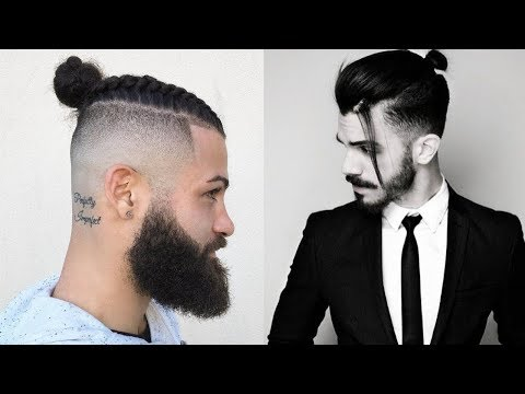 Mens hairstyles - Top 10 Man Bun Hairstyles 2018  New Top Knot Hairstyles For Men 2018