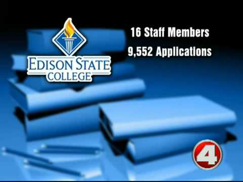 Edison blames the feds for financial aid stall