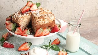 Strawberry Shortcake Coffee Cake | Episode 1152 by Laura in the Kitchen