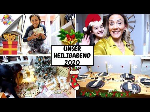 UNSER HEILIGABEND 2020   WEIHNACHTSFEST VORBEREITUNGEN   Family Fun