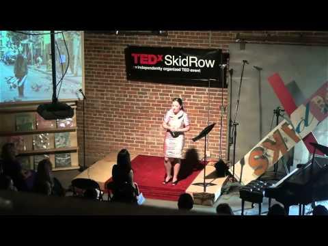 Yana Reznik at TEDx SkidRow