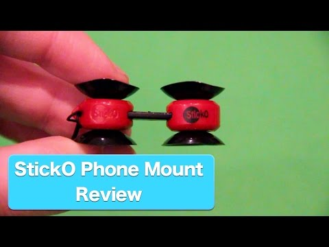 Sticko Tiny Phone Mount Review, The Gadget That Sticks