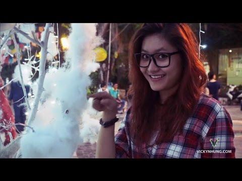 Clip mashup 7 ca khúc Giáng sinh quay trên các phố Sài Gòn