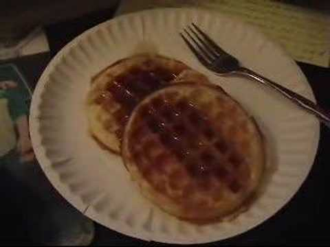 waffels - My grandpa would always say this..i tried to do his voice lol.