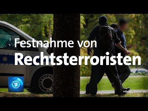 Festnahme mutmaßlicher Rechtsterroristen