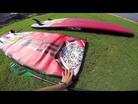 StandUp Paddle Pack Zray Evasion E9'