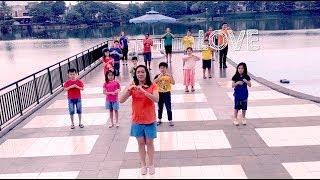 LOVE LOVE LOVE LOVE LOVE - Justin Faith Chen & TruLove Chen   Kids Songs 2018   Sing & Dance