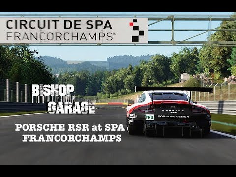 PORSCHE RSR at SPA FRANCORCHAMPS